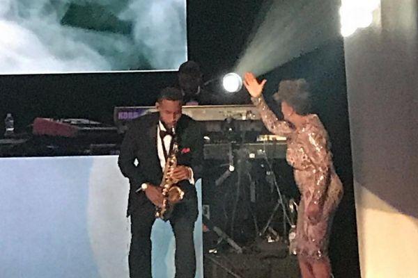 Anita Baker Saxophonist Trey Daniels